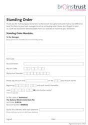 sponsorship forms for fundraising fundraising forms and resources brainstrust brain tumour charity