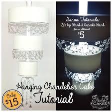 chandelier cake tutorial
