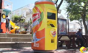 Lipton Vending Machine Custom FREE Lipton Ice Tea If You Are Hot Experiential Marketing Blog
