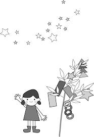 七夕のイラスト無料フリー素材