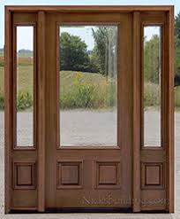 clear glass front door.  Front N200 Clear Beveled Glass With N75 Sidelights For Front Door O