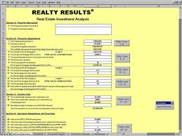 excel asset management investment spreadsheet excel tracking template real estate analysis