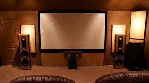 home theater display. home theater system display