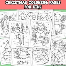 Free Christmas Coloring Pages Itsy Bitsy Fun