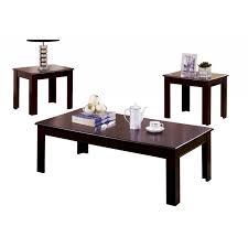 riverside espresso coffee end table set