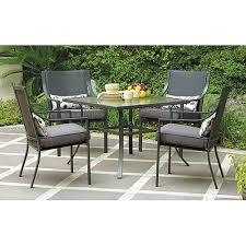 walmart 5 piece outdoor dining set