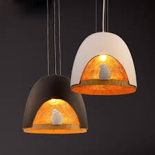 northern europe vintage dinning room bedroom bird s nest pendant lamp creative clothes coffee house simple