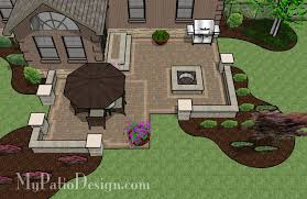 Backyard Plans Designs Simple Simple Backroom Extension Patio TinkerTurf