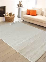 modern plain white rugs