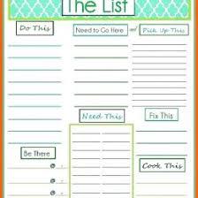 Free Printable Daily To Do List Template Image Free Printable To