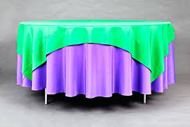 what size square tablecloth on round table round a square linen size for 36 square table