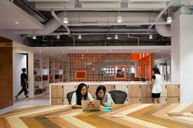 airbnb office singapore. The Office Is Designed With Informal Elements, Such As A Contemporary-styled Kopitiam, Shared Working Spaces, Well Benches And Beanbags For Breakout Airbnb Singapore I
