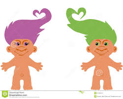 Cartoon Character Troll Stock Vector Image 51205751