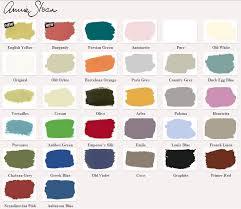 Annie Sloan Chalk Paint Color Chart The 99 Stepz Annie Sloan Chalk Paint