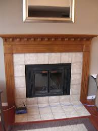 painting a fireplace whitefreckles chick Fireplace mini facelift