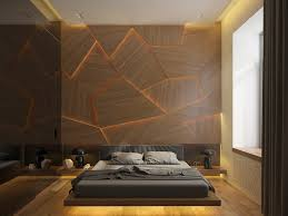 Cracked Wooden With Light Behind Wood Accent Wall