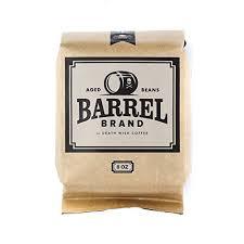 Whiskey Barrel Aged Premium Whole Bean Coffee Barrel Brand