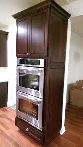 double oven cabinet. #Kraftmaid Double Oven Cabinet With Integrated Decorative End. P