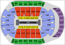Jacksonville Memorial Arena Seating Chart Jacksonville Veterans Memorial Arena Seat Map Pin