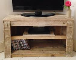 handmade tv stand. Perfect Stand Handmade Rustic Corner TableTv Stand With Shelf Reclaimed And Recycled  Wood Inside Tv