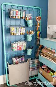 craft storage as unique as you are re purposed baby crib spring via diy inspired