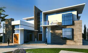 Modern Villa With Concept Photo