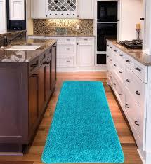 best kitchen rugs for hardwood floors area rug ideas long runner intended for blue kitchen mat