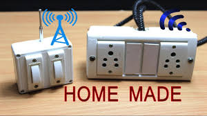 How To Make Remote Control Light Switch How To Make Remote Control Electric Extension Board At Home Without Microcontroller