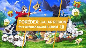 Pokémon Sword And Shield: Pokédex Galar Region - Nintendo Life