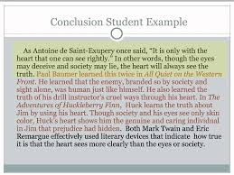 critical lens essay writing the conclusion