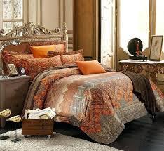 burnt orange king comforter sets and brown set 5 quilt blue bedding uk best bedroom images on 3
