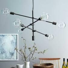 fresh west elm ceiling light mobile chandelier inspirational large