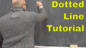To draw a dotted line, do. How To Draw Dotted Lines Like Walter Lewin Easy Tutorial Youtube