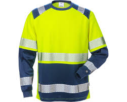 Fristads 7457 Thv High Vis Long Sleeve T Shirt 129514