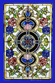 stained glass panels lakefront iris panel patterns