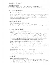 Resume Objective Sales Associate With Qualifications Profile Of