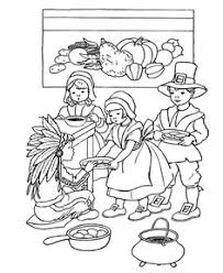 Small Picture Thanksgiving Coloring Pages Printables Pilgrim Thanksgiving