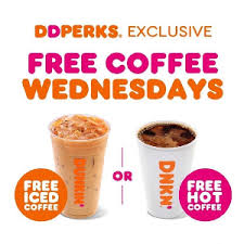 The basics of successful keto dunkin' donuts ordering: Free Medium Iced Or Hot Coffee At Dunkin Donuts On Wednesday For Dd Perks Members Select States Only Vonbeau