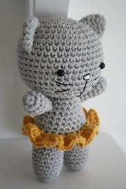 Free Crochet Cat Patterns Best Cute Crochet Patterns For Free Small Cat With Joined Legs Free