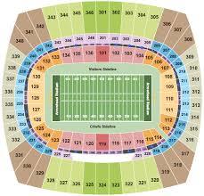 Georgia State Football Seating Chart Arrowhead Stadium Seating Chart Kansas City