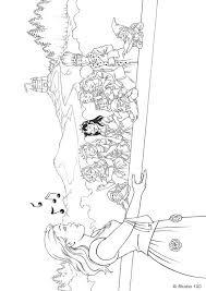 Kleurplaten Van Prinsessia Elfen Malvorlagen Malvorlagen1001 De