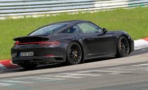 2018 porsche 911 gts. delighful 2018 2018 porsche 911 carrera gts spy photo in porsche gts e