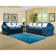 teal living room furniture. Kara Saphire Living Room 2 Piece Set - Sofa And Loveseat Teal Living Room Furniture