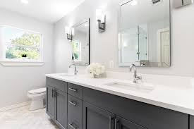 from 60 s pink to modern luxury after before lochwood master bathroom remodel