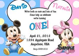 mickey and minnie invitation templates new mickey and minnie birthday invitations as prepossessing ideas