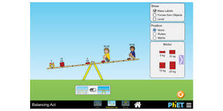 balancing act balance proportional reasoning torque phet interactive simulations