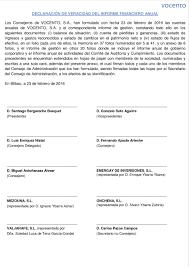 Informe Financiero Vocento Informe Anual 2015