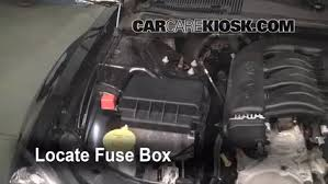 blown fuse check 2006 2010 dodge charger 2006 dodge charger sxt 2006 dodge charger fuse box layout at 2006 Dodge Chargers Fuse Box Key
