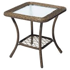 style selections patio side table