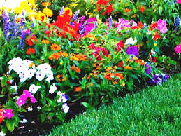 Small Picture garden ideas Beautiful Flower Garden Designs Landscape Beds